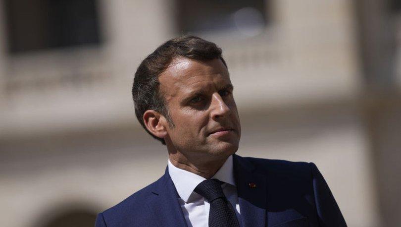 Macron, İsrail Başbakanı'ndan