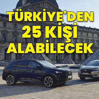 Türkiye'den sadece 25 kişi alabilecek!