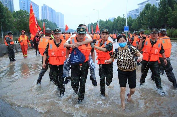 Çin'deki sel felaketinde ölü sayısı 58'e yükseldi