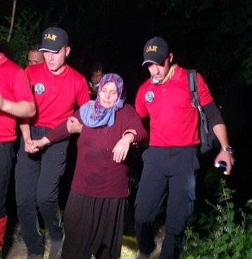 Uludağ'da kaybolan kadın bulundu