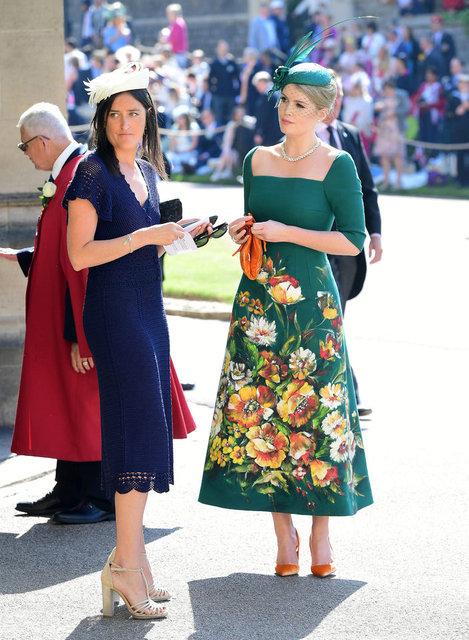 Lady Diana'nın yeğeni Lady Kitty Spencer Michael Lewis ile evlendi