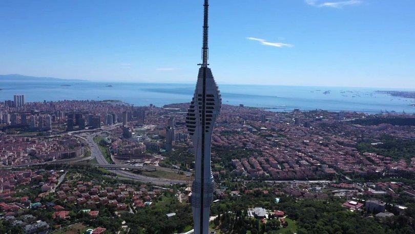 Çamlıca Kulesi'ni bayram tatilinde 30 bin kişi ziyaret etti