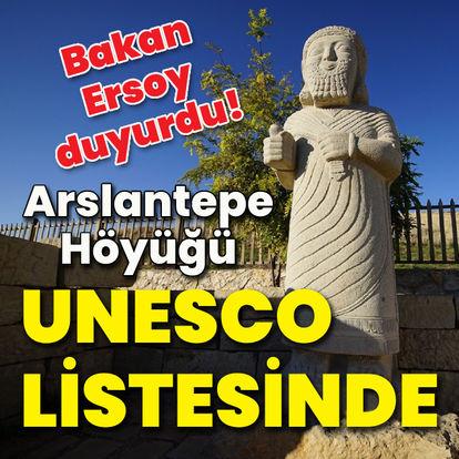 Arslantepe Höyüğü, Dünya Kültür Mirası Listesi'nde!