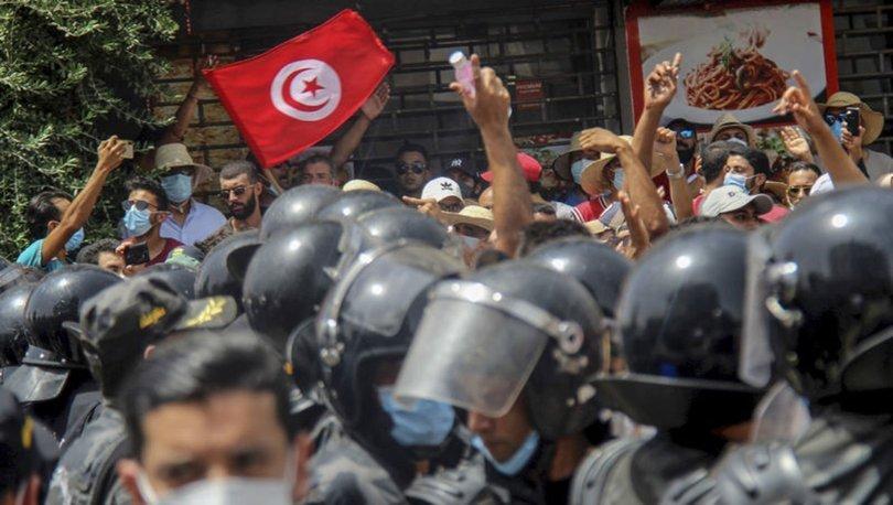 Tunus'ta darbe girişimi... SON DAKİKA: Meclis Başkanı Gannuşi'en flaş açıklama