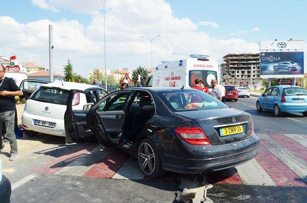 Aksaray'da trafik kazası
