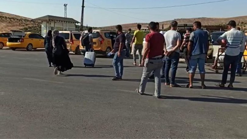Kurban Bayramı'nda ülkelerine giden Suriyeliler dönüyor