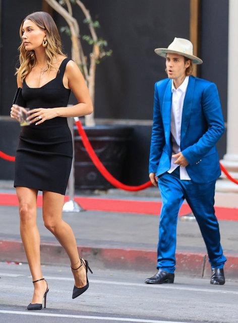 Justin Bieber'dan eşi Hailey Baldwin'in yırtmacına önlem - Magazin haberleri