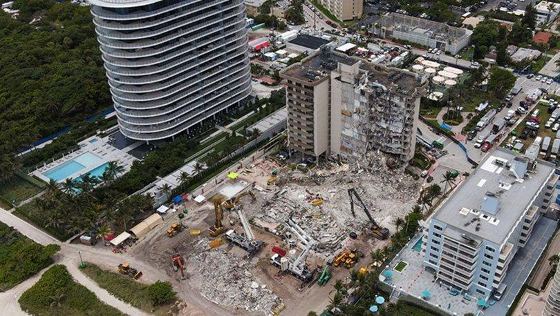 Miami'de çöken binadaki son kayıp kişi de ölü bulundu, can kaybı 98 oldu