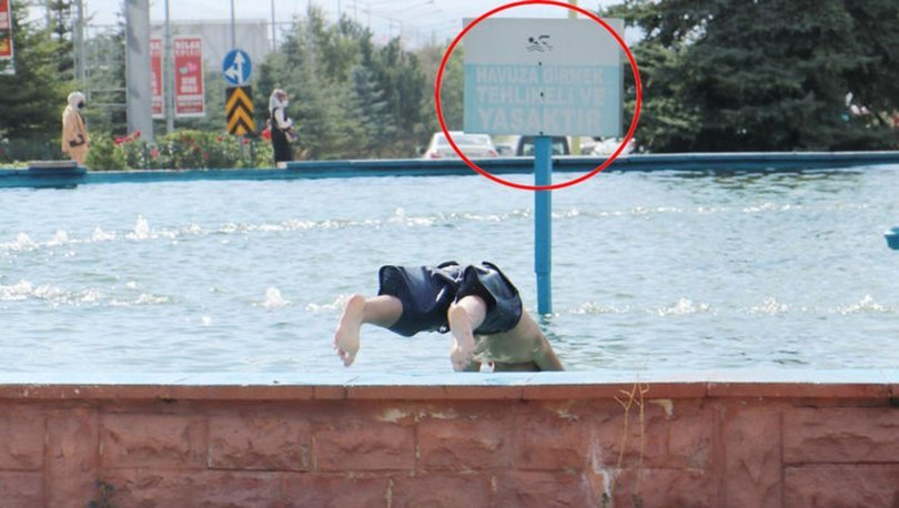 SON DAKİKA! 220 voltluk elektrik sisteminin olduğu havuzda yüzüyorlar - HABERLER