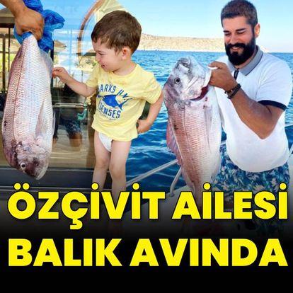 Özçivit ailesi balık avında