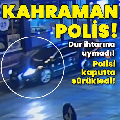 Kahramanmaraş'ta kahraman polis!