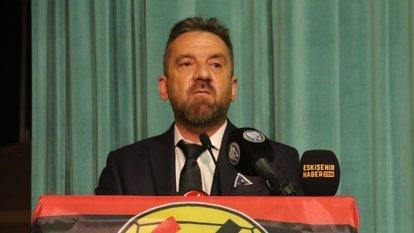 Eskişehirspor'da yeni başkan Mehmet Şimşek