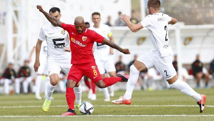 Yukatel Kayserispor: 1 - FC Ballkani: 1   MAÇ SONUCU