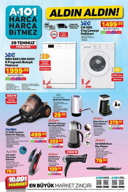 A101 BİM aktüel ürünler kataloğu! A101 BİM 29-30 Temmuz aktüel kataloğu! Tüm liste yayında