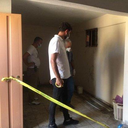 Manisa'da apartman boşluğunda şüpheli ölüm