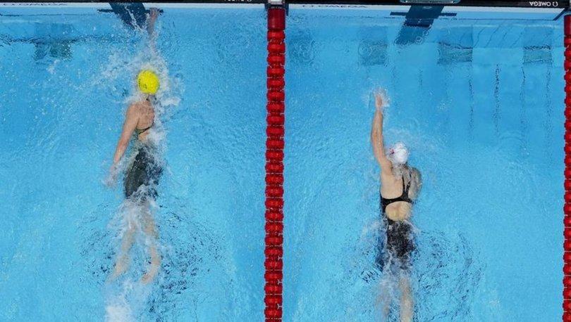 Yüzmede 2 olimpiyat rekoru!