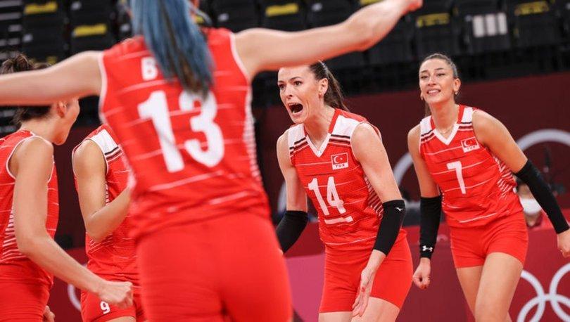 A Milli Kadın Voleybol Takımı, Tokyo 2020'de ABD ile karşılaşacak