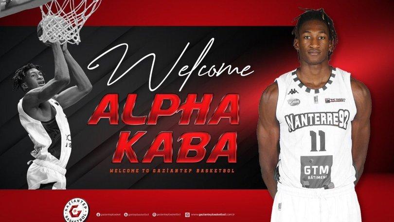 Gaziantep Basketbol, Fransız oyuncu Alpha Kaba'yı kadrosuna kattı
