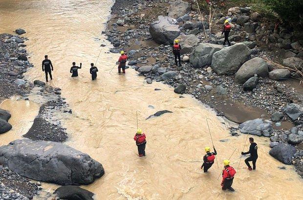 Sel felaketinde 1 kişinin cansız bedenine ulaşıldı