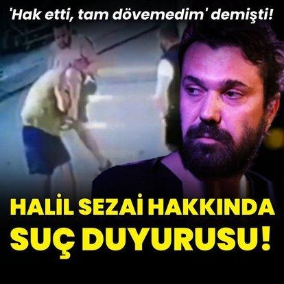 Halil Sezai hakkında suç duyurusu!