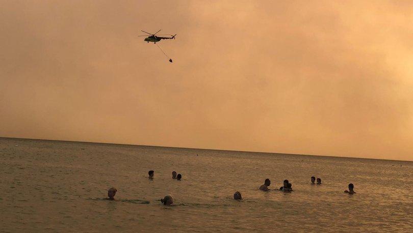 SON DAKİKA: Antalya Manavgat'ta gökyüzü karardı! Manavgat yangın son durum