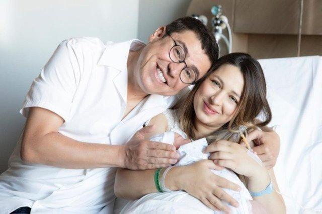 İbrahim Büyükak-Nurdan Beşen çiftinin bebekleri Aslan Oktay 1 aylık oldu - Magazin haberleri