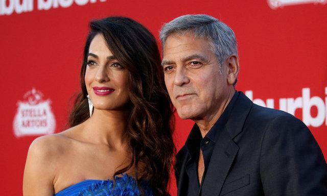 George Clooney ve ailesine sel şoku! - Magazin haberleri