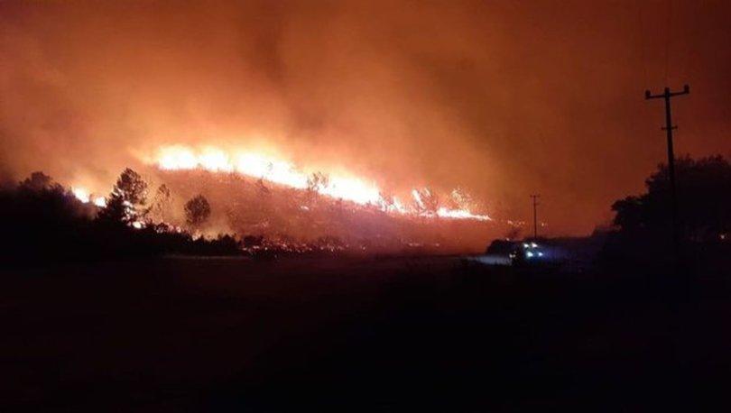 Son dakika... Antalya'nın Akseki ilçesinde orman yangını çıktı