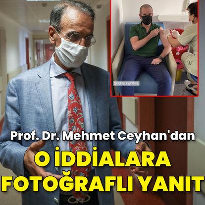 Prof. Mehmet Ceyhan'dan o iddialara fotoğraflı yanıt!