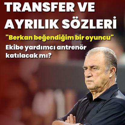 Terim'den transfer açıklaması
