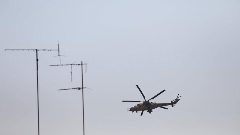 Irak'ta askerî helikopter düştü: 5 kişi hayatını kaybetti