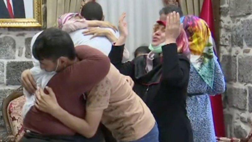 MÜJDE... Son dakika: Diyarbakır anneleirnden 3'ü evladına kavuştu