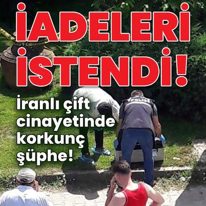 İranlı çift cinayetinde korkunç şüphe!