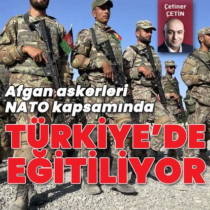 Afgan askerlerine Türkiye'de eğitim veriliyor