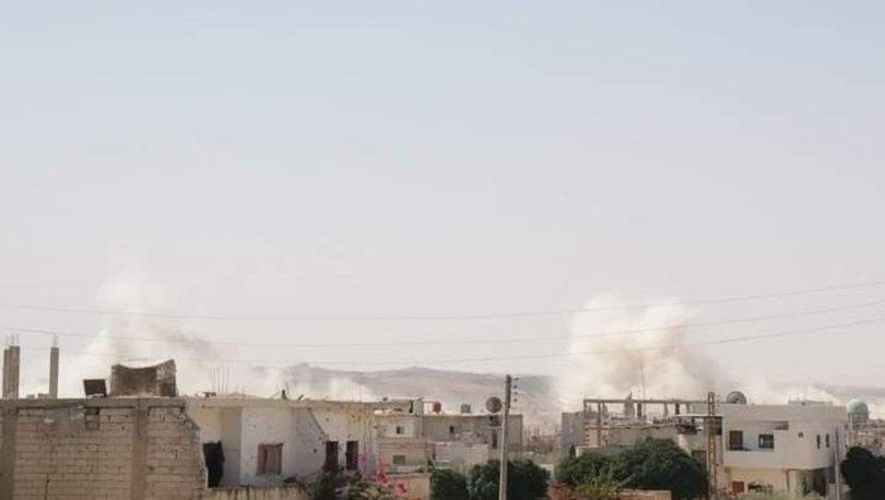 Suriye'de Esad rejiminin ülkenin güneyindeki Dera'ya düzenlediği saldırılarda 15 sivil öldü
