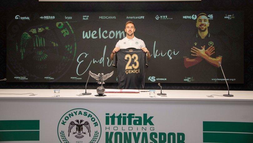 Konyaspor, Arnavutluk Milli Takım futbolcusu Endri Çekiçi'yi transfer etti