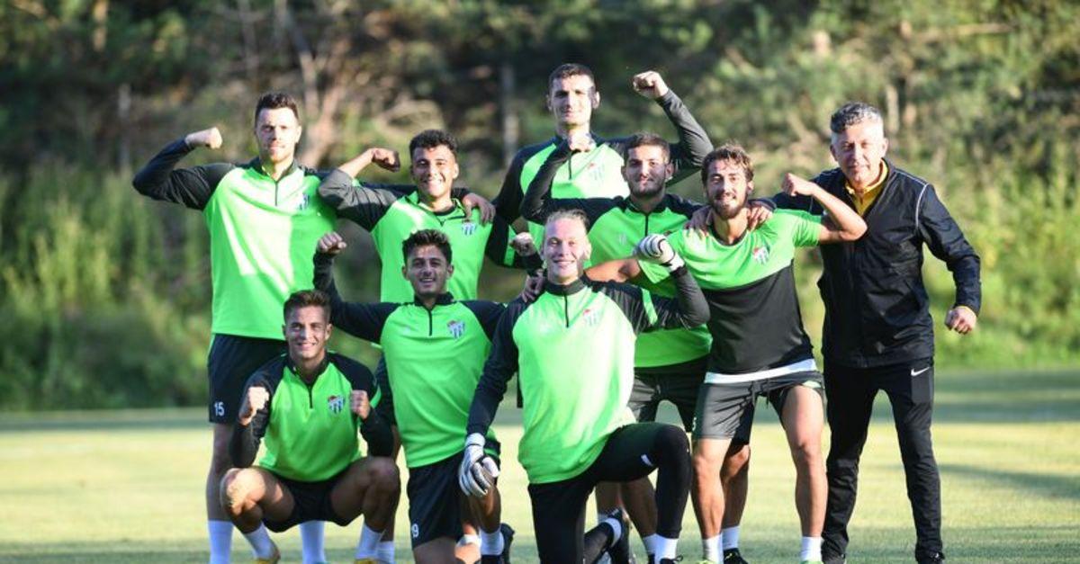 Bursaspor'da yeni sezon hazırlıkları