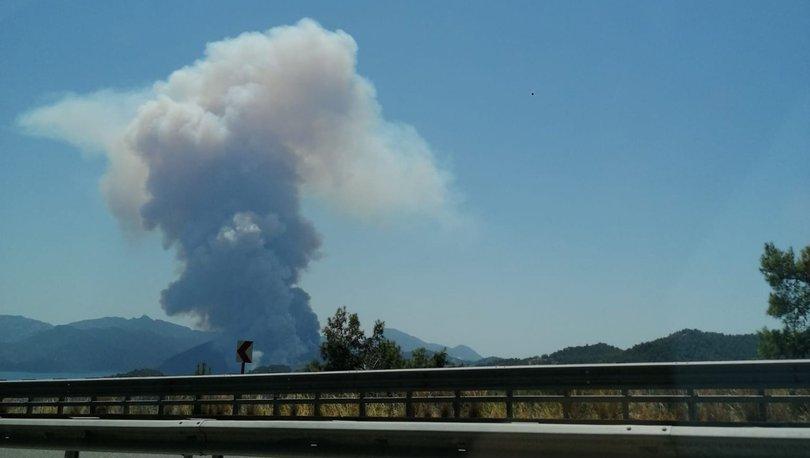 Son dakika haberi Bir orman yangını da Marmaris'te çıktı!