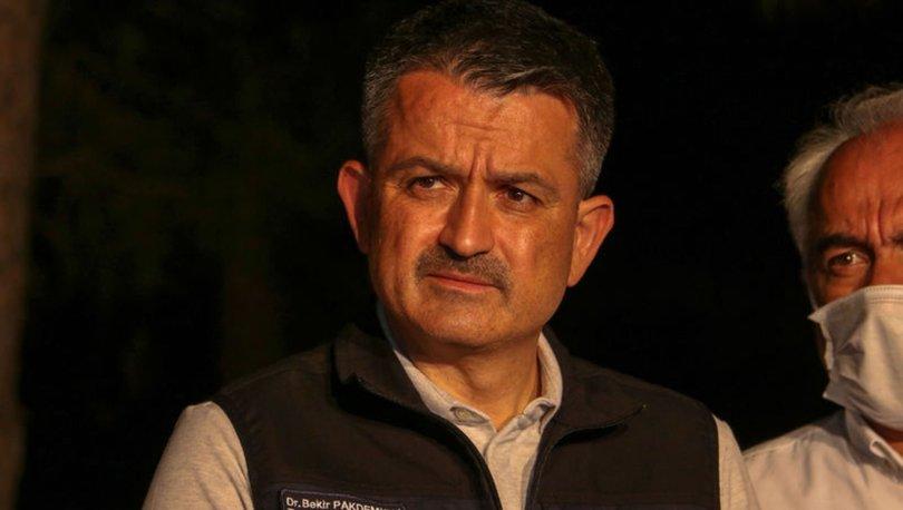 Marmaris yangın son dakika: Bakan Pakdemirli açıkladı! 1 vatandaş hayatını kaybetti