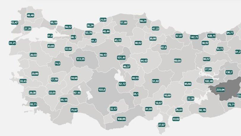 İl il risk haritası 29 Temmuz 2021! Türkiye risk haritasına göre düşük, orta, yüksek ve çok yüksek riskli ille