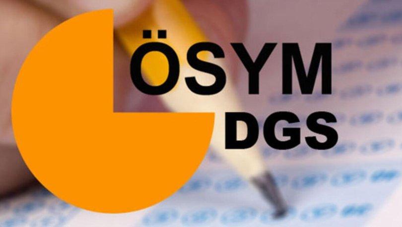 DGS sonuçları açıklandı mı? DGS sonuçları ne zaman açıklanacak? 2021 DGS sonuç tarihi açıklandı