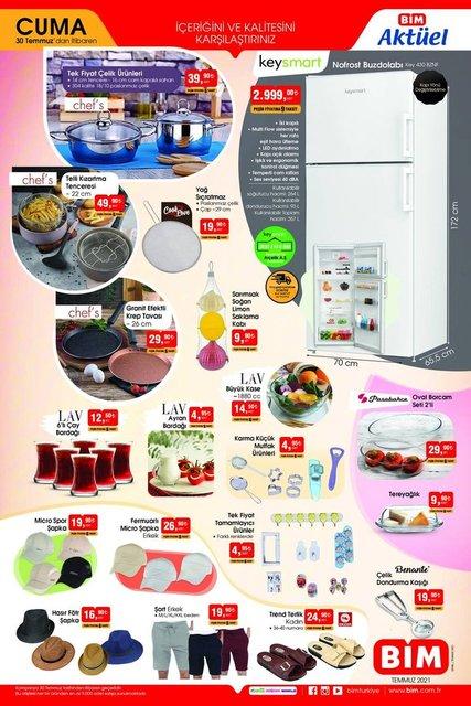 30 Temmuz BİM aktüel ürünler kataloğu satışta! BİM'de haftanın indirimli ürünler listesi burada