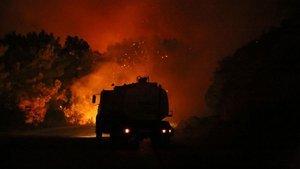 21 ilde çıkan 63 yangının 42'si kontrol altına alındı