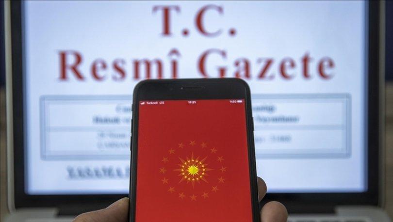 Bazı bakanlık ve kurumlarda atama kararları Resmi Gazete'de