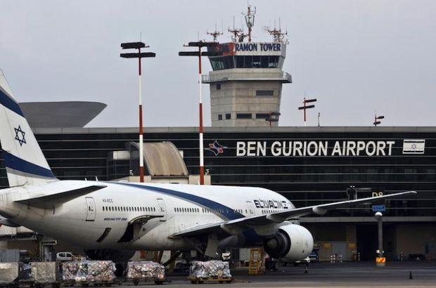 İsrail'in uluslararası havaalanında uçuşlar yeniden başladı