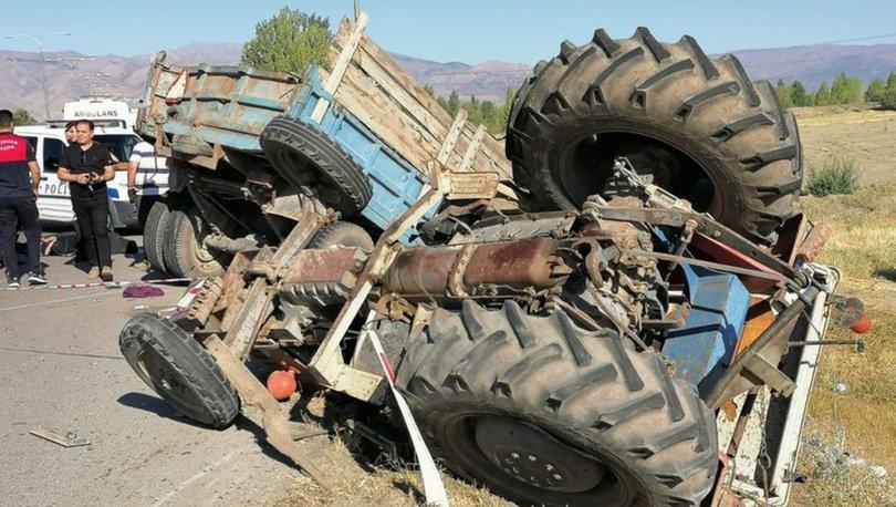 Erzincan'da feci kaza: Ölü ve yaralılar var
