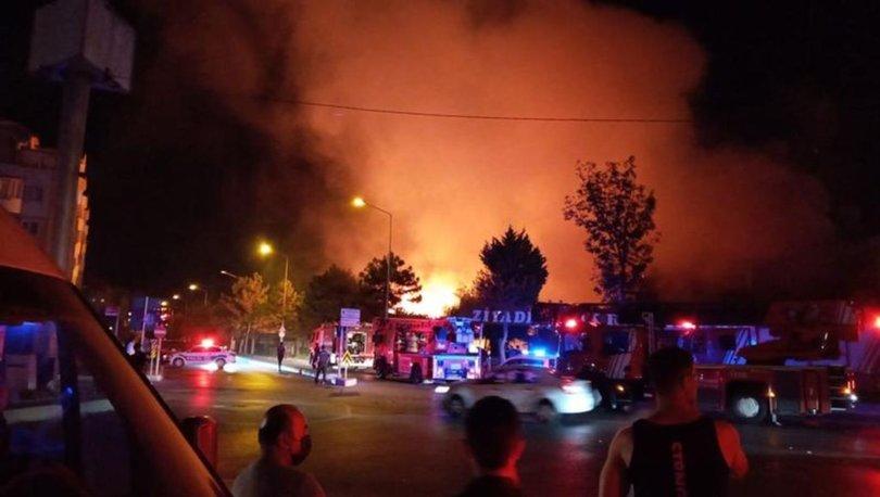 İstanbul'da yangın paniği! SON DAKİKA: Balık restoranı küle döndü - Başakşehir