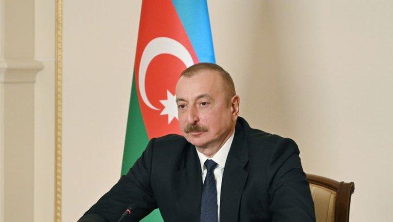 SON DAKİKA: Azerbaycan Cumhurbaşkanı Aliyev'den, Türkiye'deki orman yangınlarında ölenler için taziye mesajı