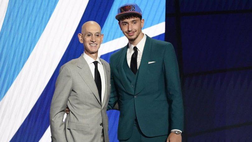 GURUR... Alperen Şengün NBA'de! Şengül'ün yeni takımı belli oldu! NBA Draftı