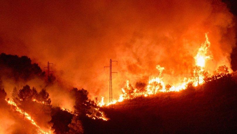 AVRUPA YANIYOR! Son dakika: Güney Avrupa yangınlarla boğuşuyor